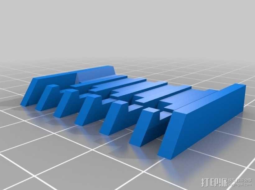 电动剃须刀配件模型 3D模型  图4