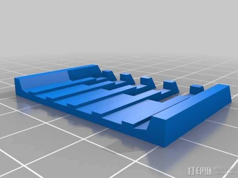 电动剃须刀配件模型 3D模型  图5