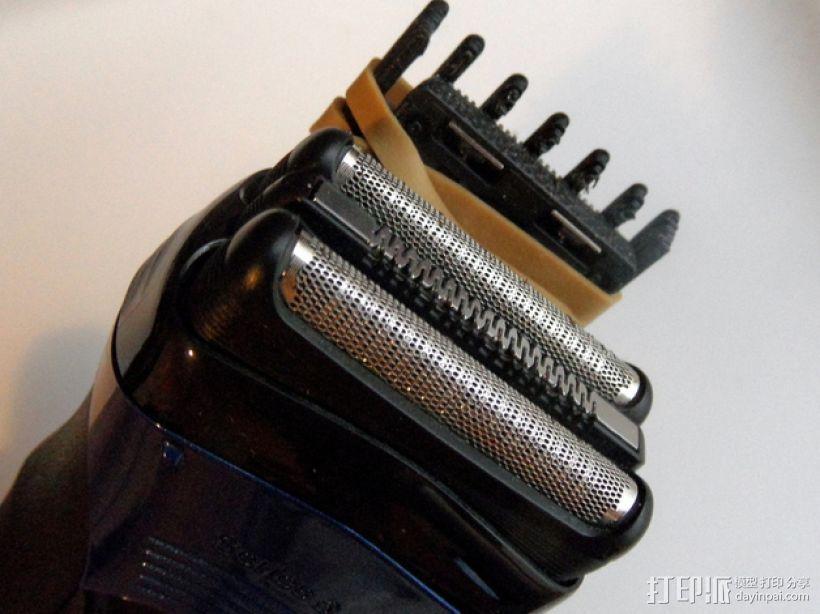 电动剃须刀配件模型 3D模型  图7