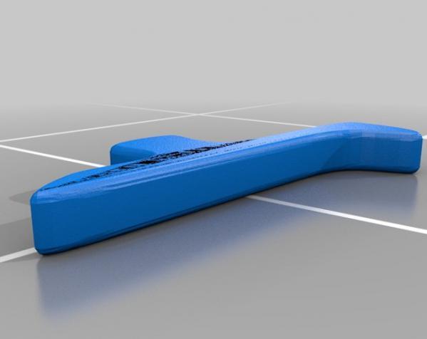 直角形汤匙模型 3D模型  图4