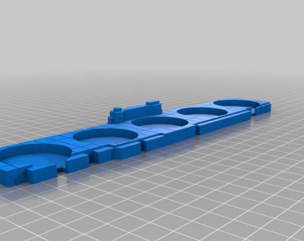 玻璃杯底座模型 3D模型  图3