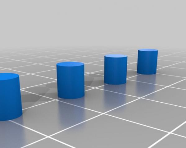 玻璃杯底座模型 3D模型  图4