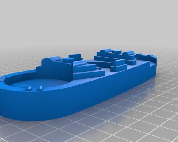 玻璃杯底座模型 3D模型  图5