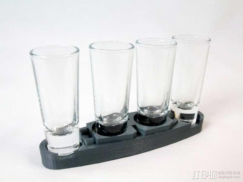 玻璃杯底座模型 3D模型  图8