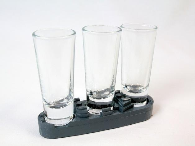 玻璃杯底座模型 3D模型  图10