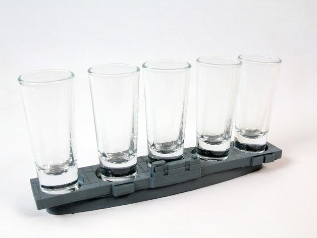 玻璃杯底座模型 3D模型  图13