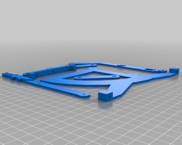 古典风格的信件磅秤模型 3D模型  图3