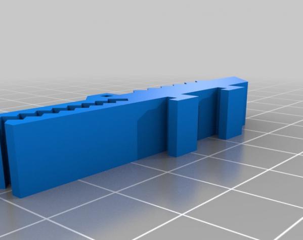 古典风格的信件磅秤模型 3D模型  图4