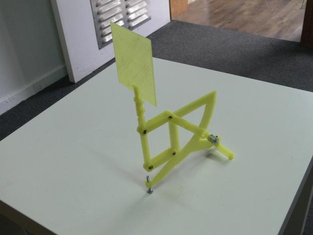 古典风格的信件磅秤模型 3D模型  图2