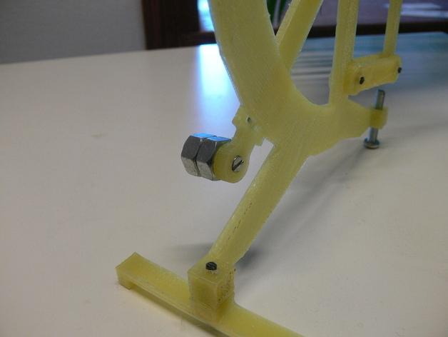 古典风格的信件磅秤模型 3D模型  图6