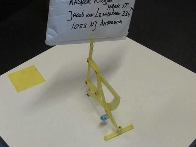 古典风格的信件磅秤模型 3D模型  图5