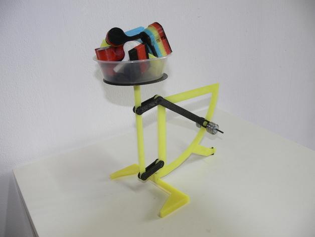 古典风格的信件磅秤模型 3D模型  图12