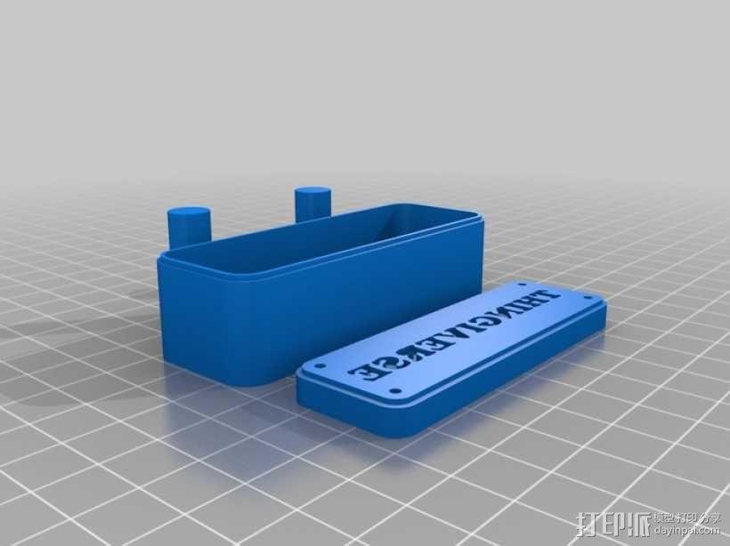 个饼干模型切割刀模型 3D模型  图3