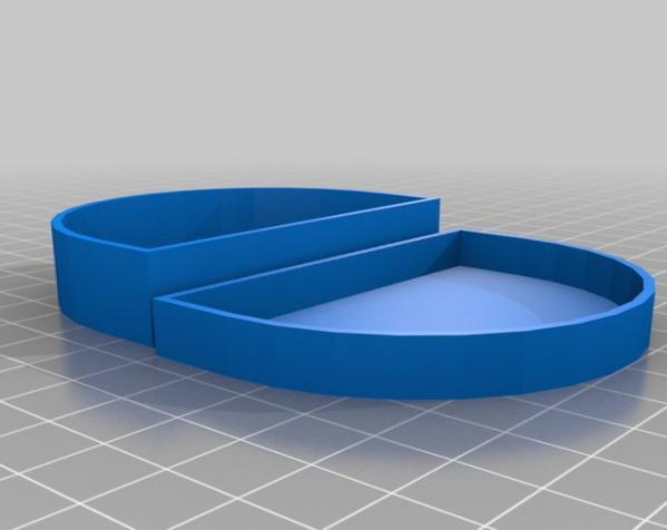 定制化假牙盒模型 3D模型  图1