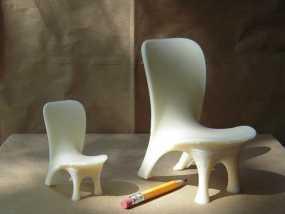 泡泡透明椅模型 3D模型