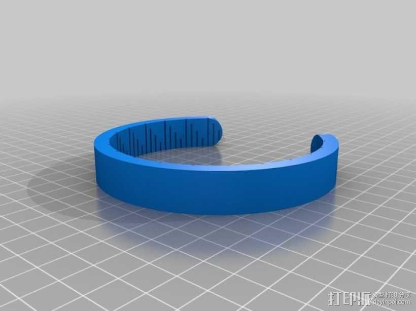 弓弦形赤道日晷仪  3D模型  图1