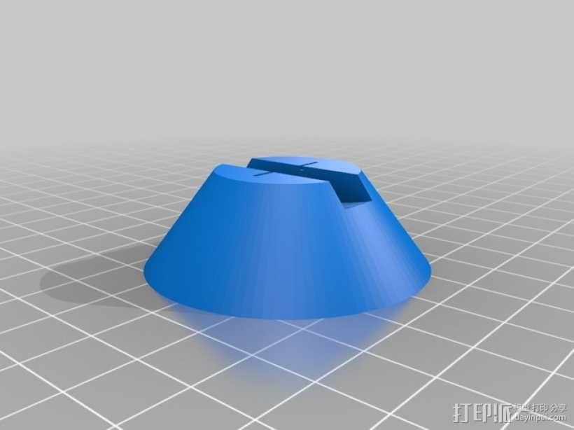 弓弦形赤道日晷仪  3D模型  图3