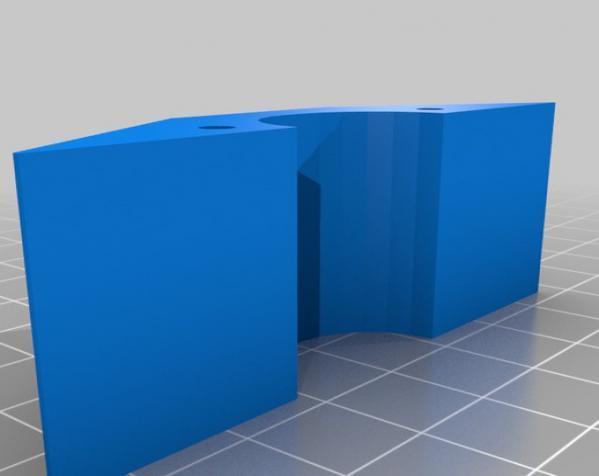 铰链式地板基座模型 3D模型  图1