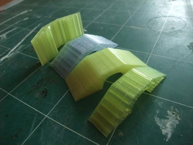 铰链式地板基座模型 3D模型  图4