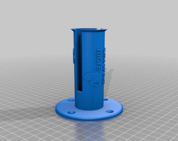 迷你卫生纸架模型 3D模型  图1
