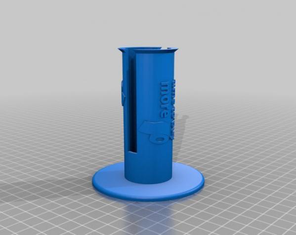 迷你卫生纸架模型 3D模型  图2