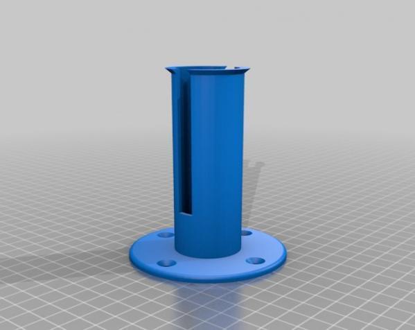 迷你卫生纸架模型 3D模型  图3