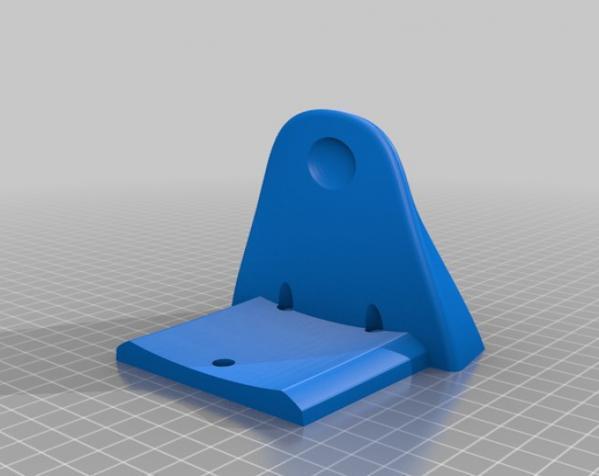 厕所卫生纸架模型 3D模型  图3