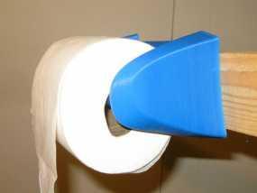 厕所卫生纸架模型 3D模型