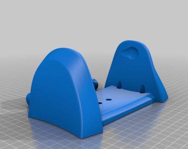 厕所卫生纸架模型 3D模型  图6