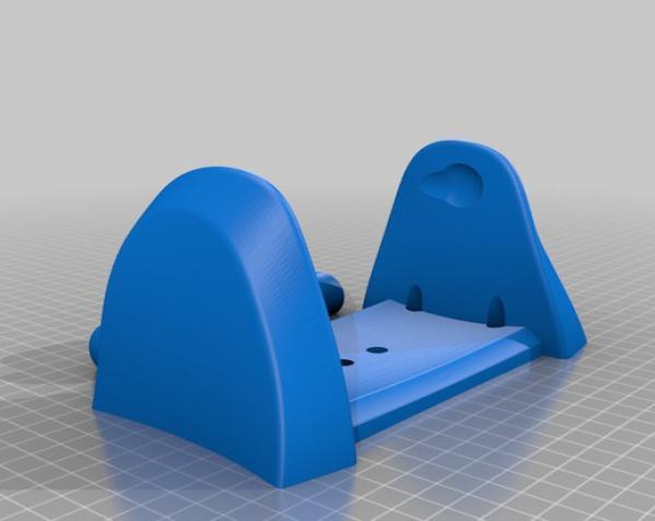 厕所卫生纸架模型 3D模型  图7