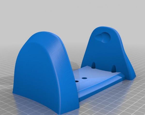厕所卫生纸架模型 3D模型  图8