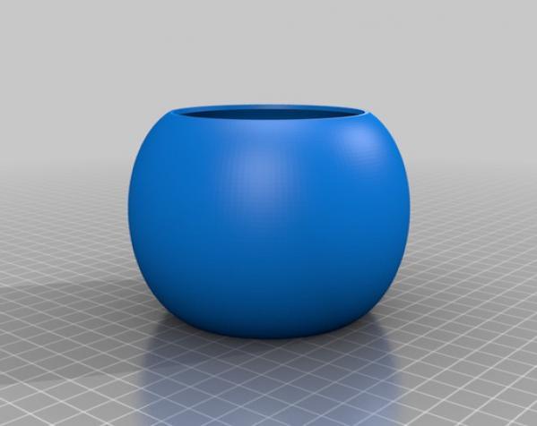 常见几何容器模型 3D模型  图2