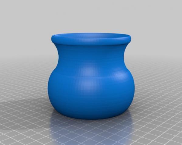 常见几何容器模型 3D模型  图1
