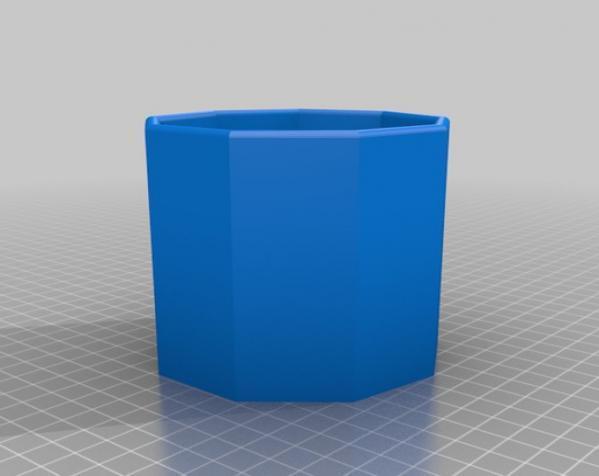 常见几何容器模型 3D模型  图14