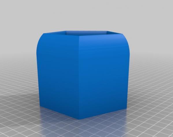 常见几何容器模型 3D模型  图13