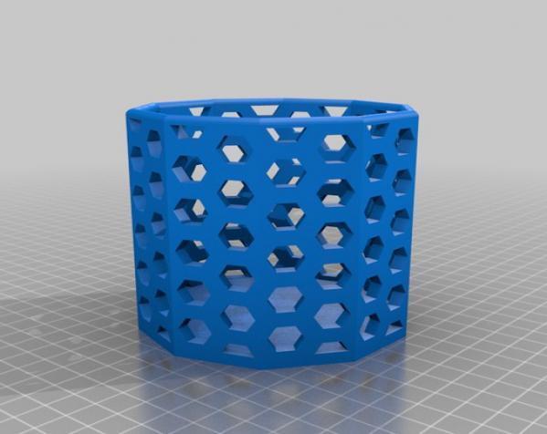 常见几何容器模型 3D模型  图19