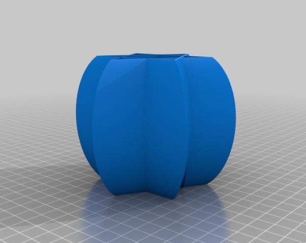 常见几何容器模型 3D模型  图23