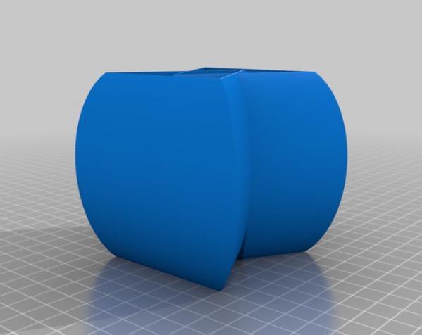 常见几何容器模型 3D模型  图25