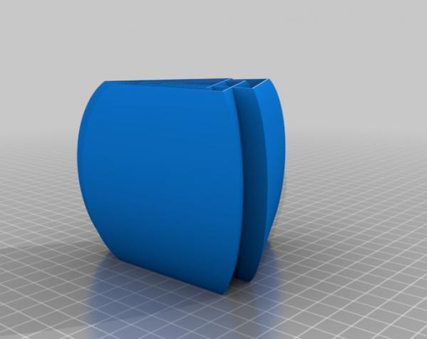常见几何容器模型 3D模型  图26