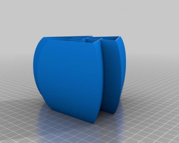 常见几何容器模型 3D模型  图27