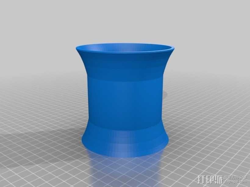 常见几何容器模型 3D模型  图34