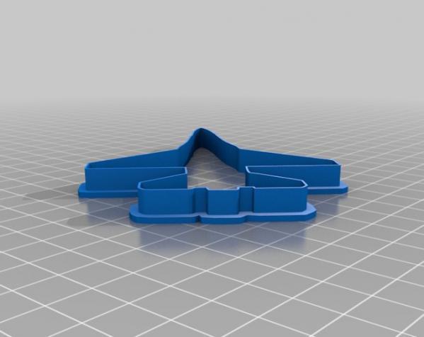 飞机形饼干切割刀模型 3D模型  图8