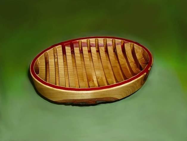 迷你樱桃木盆模型 3D模型  图2