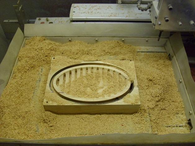 迷你樱桃木盆模型 3D模型  图7