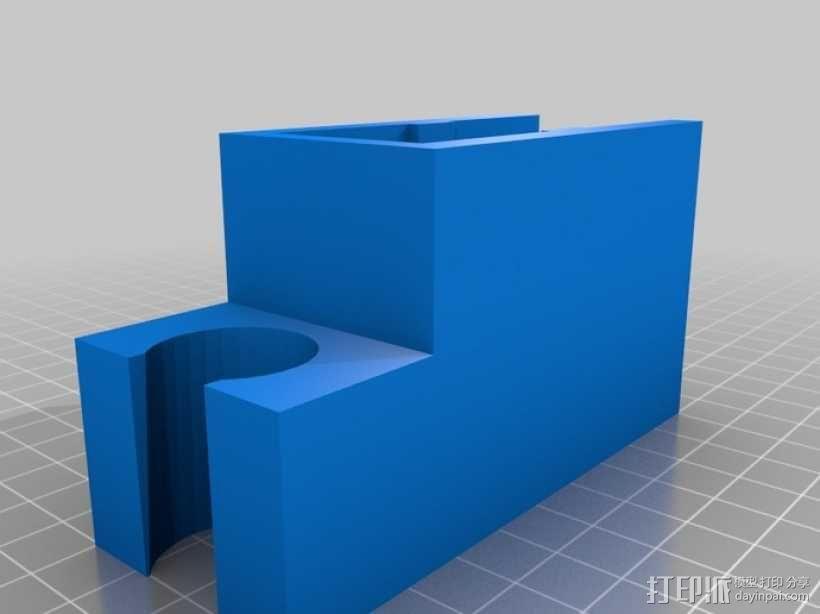 迷你淋浴夹模型 3D模型  图5