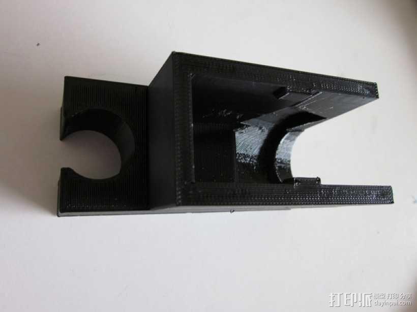 迷你淋浴夹模型 3D模型  图2