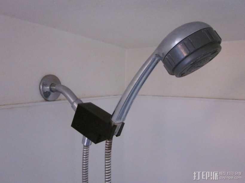 迷你淋浴夹模型 3D模型  图1
