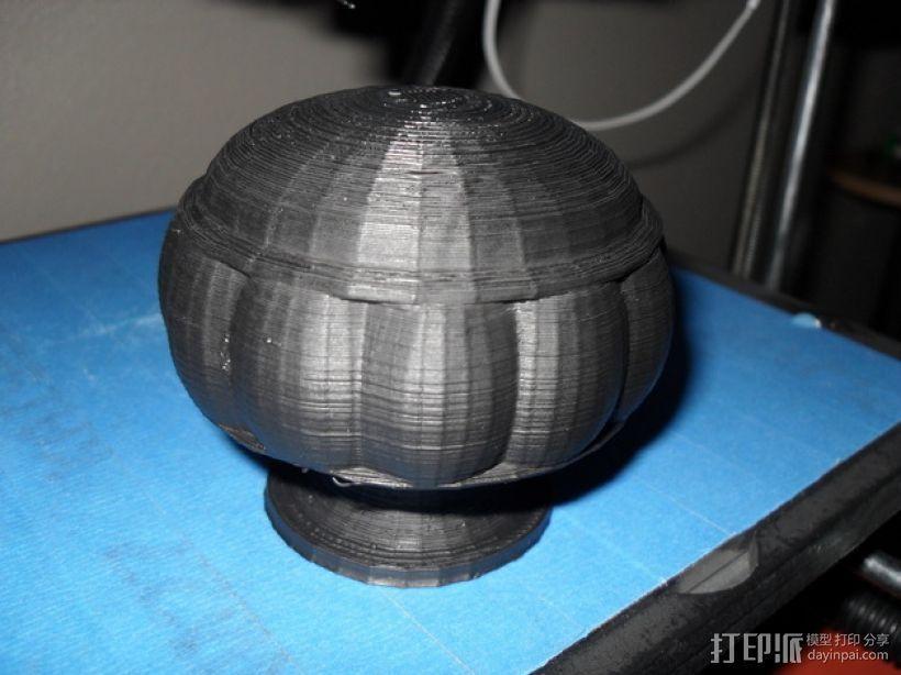 窗帘杆末端套头模型 3D模型  图3