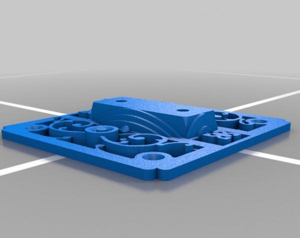 绘图桌支架模型 3D模型  图3