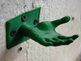 手形珠宝架/衣帽钩模型 3D模型